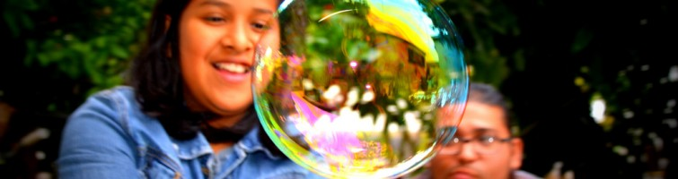catching the bubble
